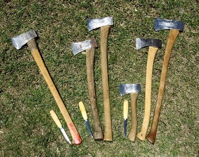 types of axe